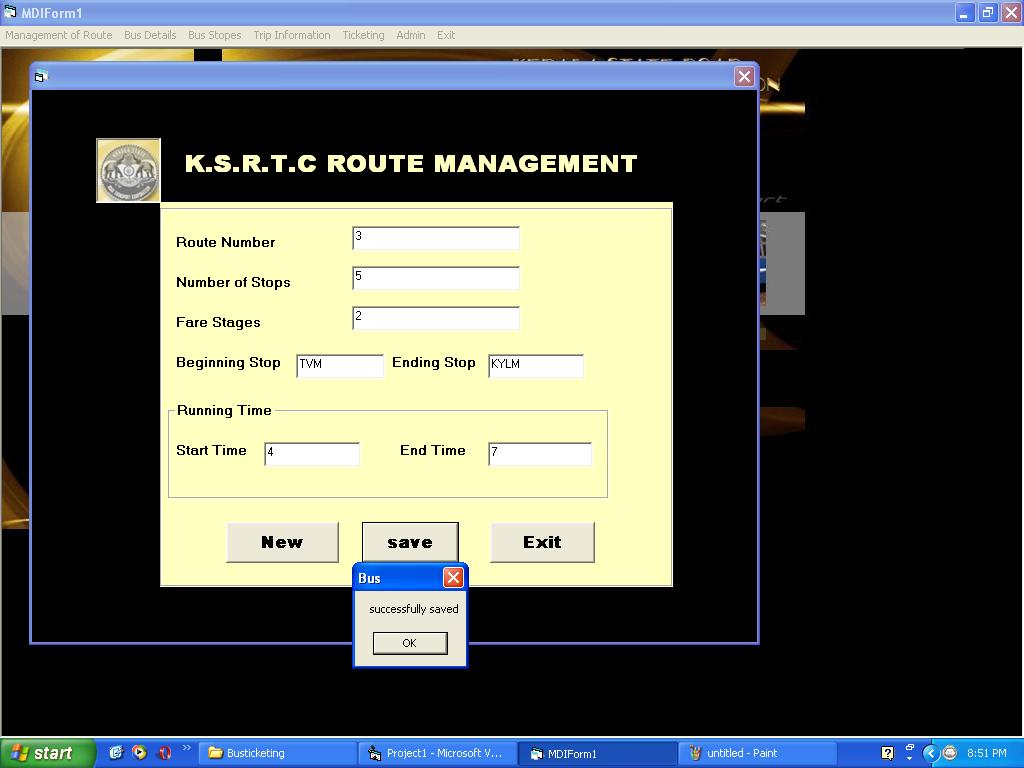 Bus Ticketing Management System Using Visual Basic