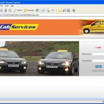 Cab Service Management home page