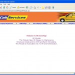 Cab Service Management hr home page