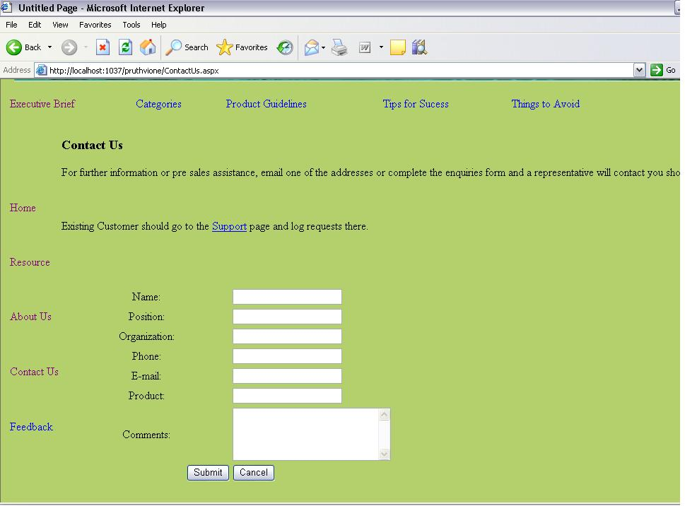 help desk project web based system projectsgeek contact us page