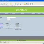 Leave Management System leave balance