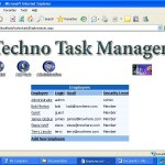 Task Manager for Corporates add new employee