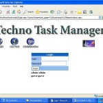 Task Manager for Corporates home page