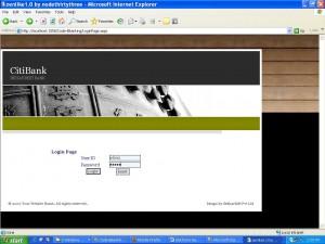 login page E-Banking