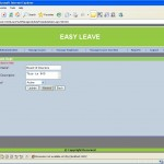 update department Leave Management System