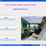 Hospital management System edit data