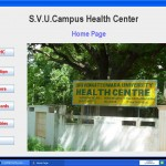 Hospital management System home page