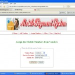 assign mobile number