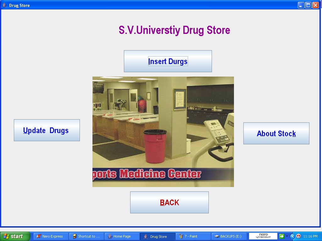 Hospital management System mini project - ProjectsGeek