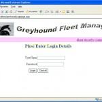 Fleet Manager System login