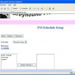Fleet Manager System pm schedule