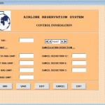 Airline Reservation System Project cancel