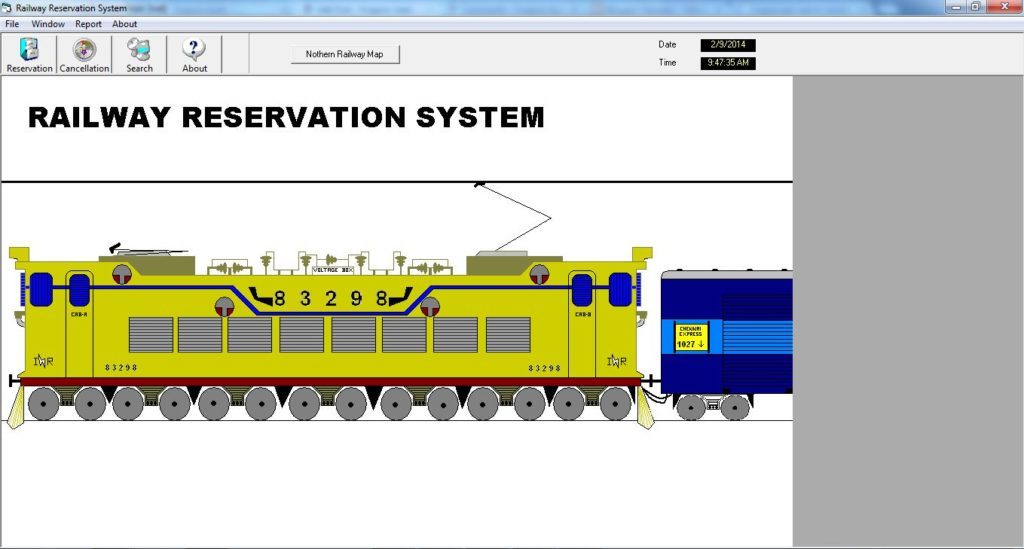 Railway Ticket Booking System Project - ProjectsGeek