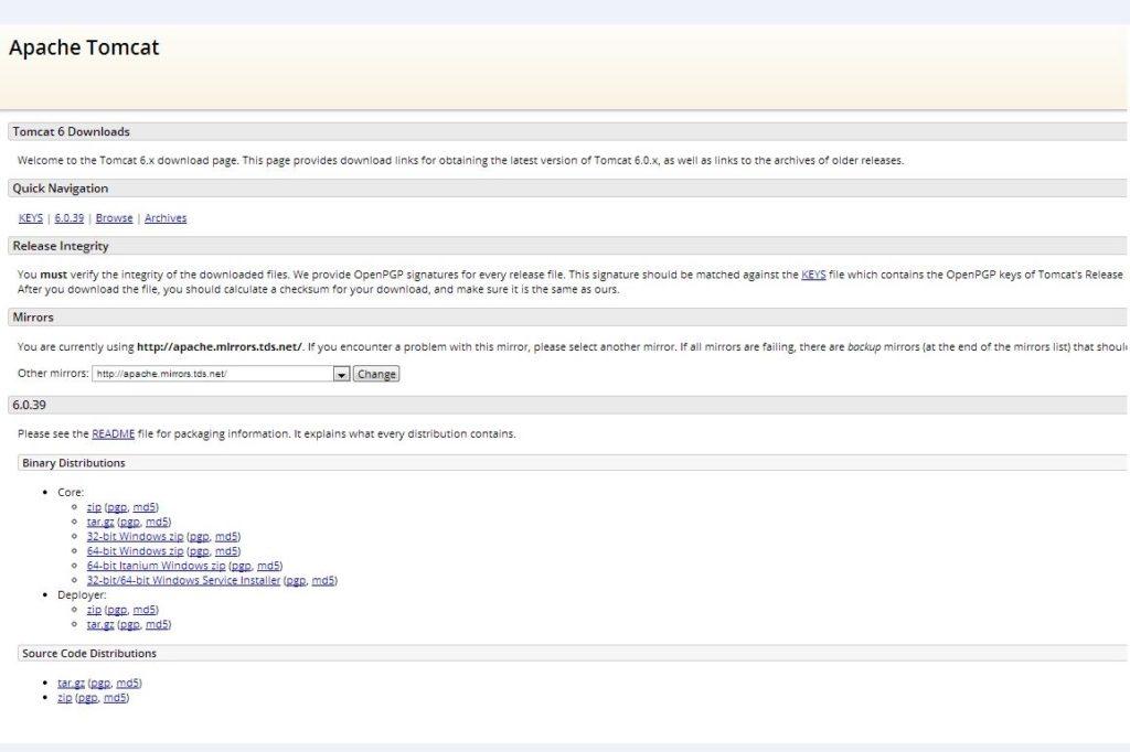 how to download tomcat server