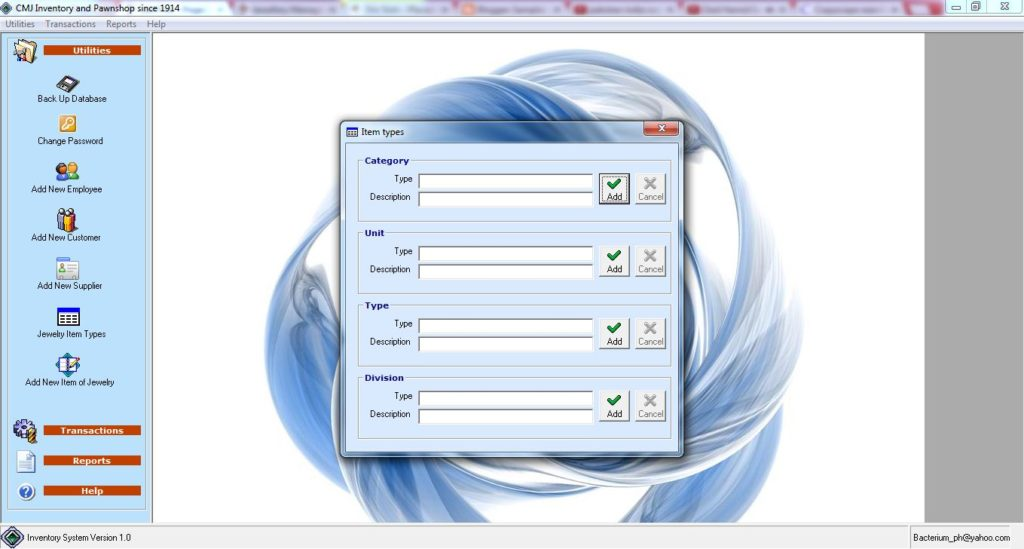 Jewellery Management System Project In Vb Projectsgeek
