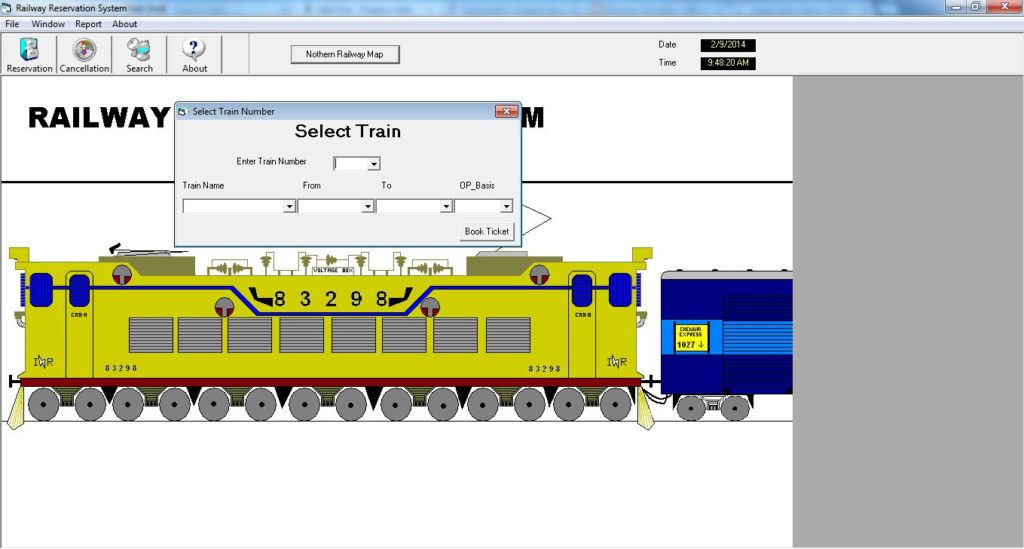 Railway Ticket Booking System Project Projectsgeek