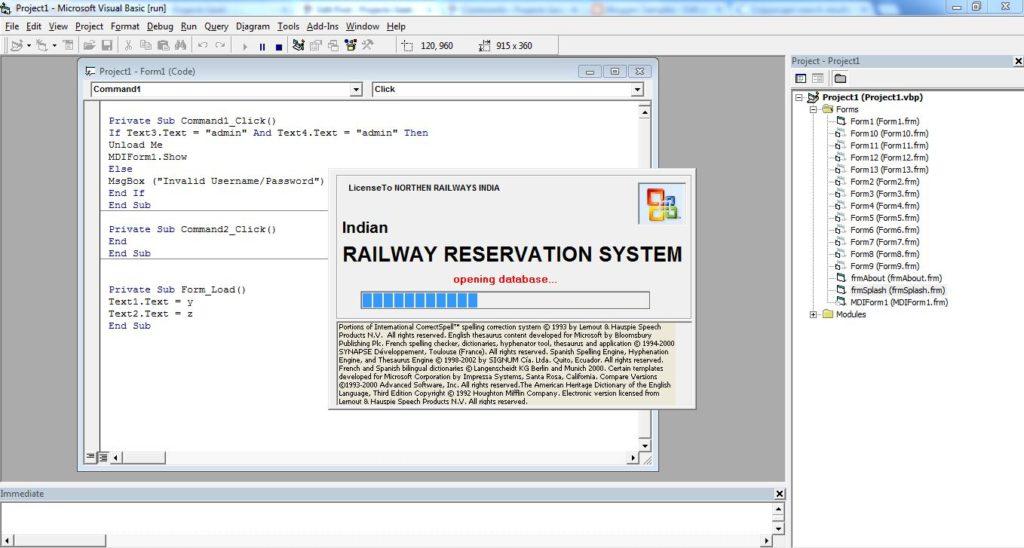 reservation airline ticket