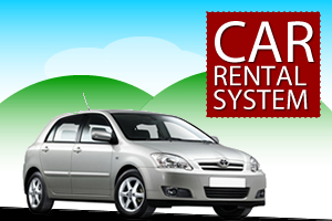Rental Car management system project in PHP