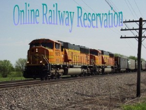 Railway Ticket Reservation System project
