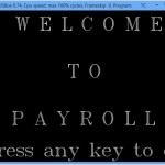Payroll Management System splash