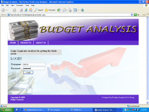 Budget Analysis System