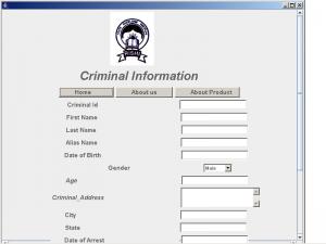 crime criminal information system