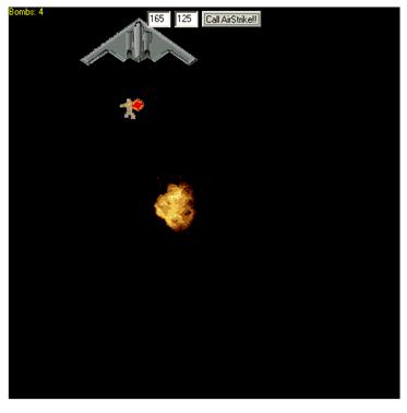 Airstrike System Game