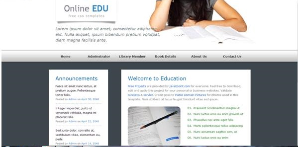 online library project