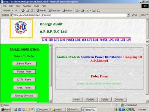 Energy Audit Processing