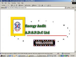 Energy Audit Processing System