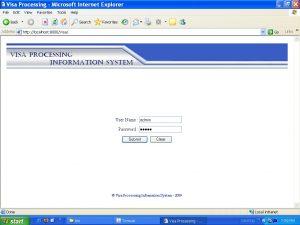 Visa Processing System