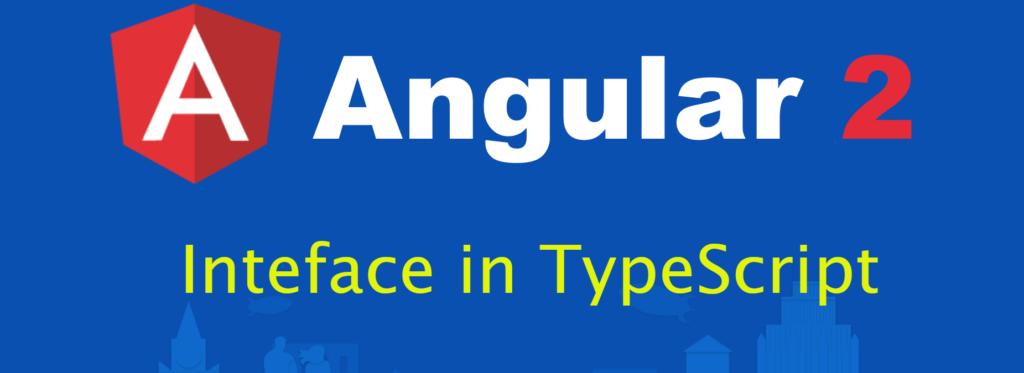 Interface in TypeScript